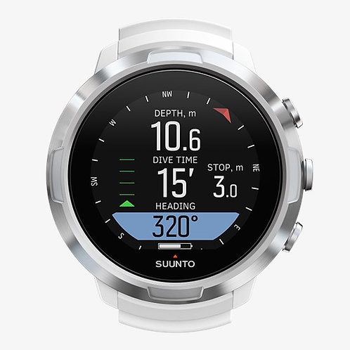 Suunto Dive Computers - D5 with USB (White / Black)