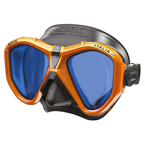 Seac Sub Mask - Italia (Asian Fit), Mirrored