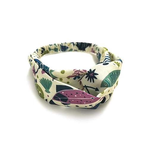 Special Collection - Little Fish Print Bandana Hair Band