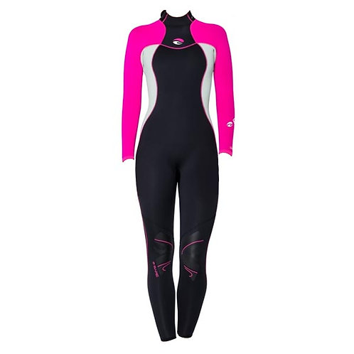Special Collection - Nixie Full Wetsuit 3mm Pink