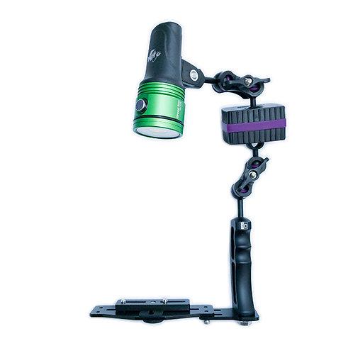 iDivesite Full Kits - i-Das Single Arm Kit w/ Light
