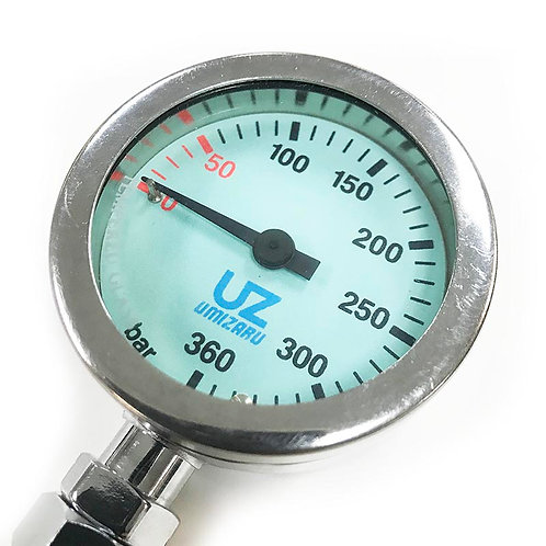 Accessories - Umizaru Single Pressure Brass Gauge