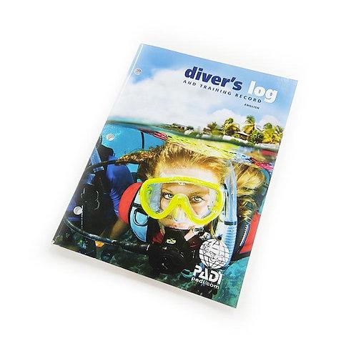PADI Accessories - Dive Log Book