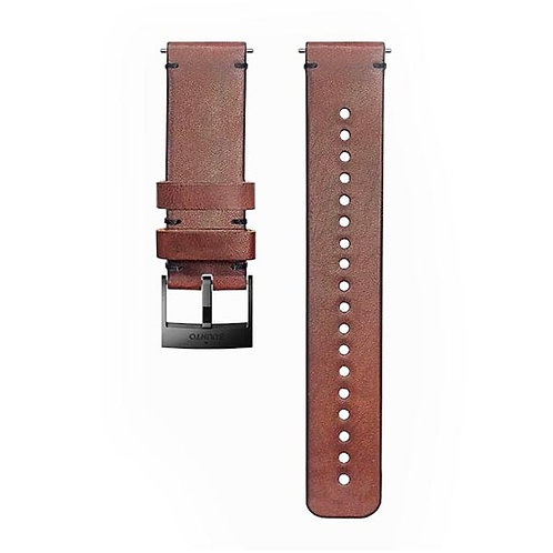 Suunto Accessories - 24MM Urban 2 Leather Strap (M)