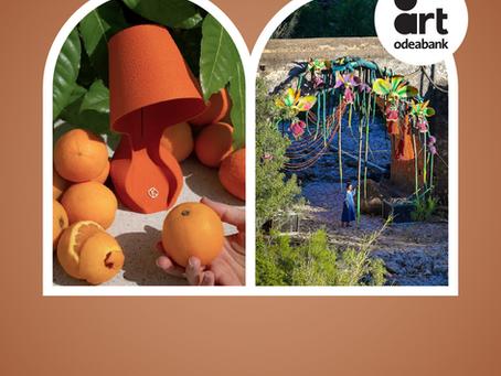 Portakaldan Lamba & Atık Tekstilden Dev Orkideler