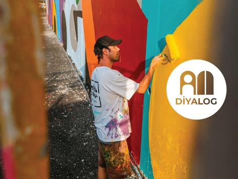 DİYALOG: Esk Reyn   Mural Sanatçısı & Heykeltıraş