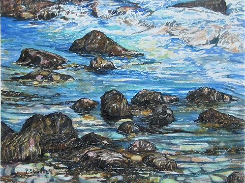 Tide Pool- Original Painting | Pat Shattuck