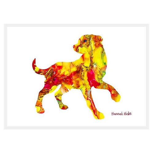Playful Dog Card | Hannah Hicks