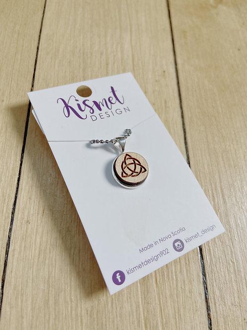 Small Celtic Knot Necklace | Kismet Design