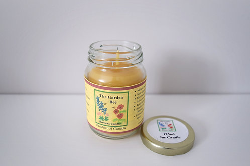 Beeswax Jar Candle | The Garden Bee