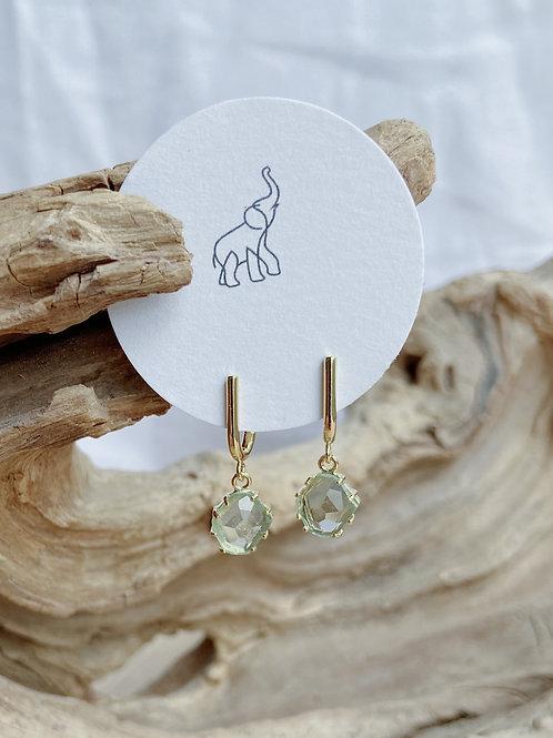 Stud Earrings with HangingErendite | Elephant/Castle by Dara