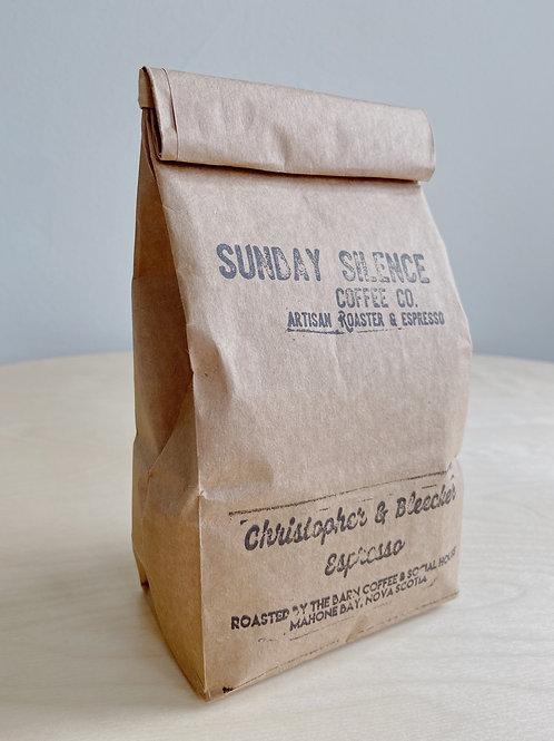 Christopher + Bleeker- Espresso Roast Coffee | Sunday Silence Coffee Co.