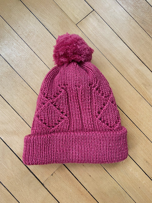 Traditional Pattern Toque - Magenta | NWK