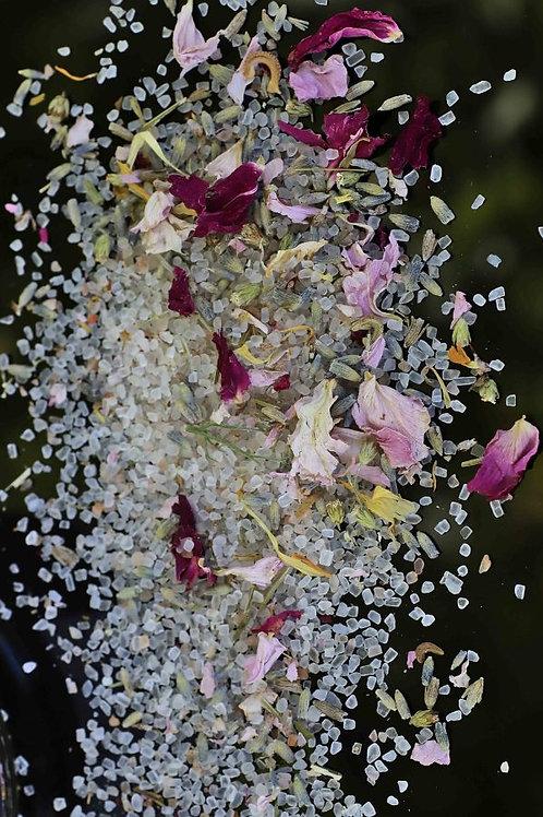 Meadow Bath Soak- 15oz | Blooming Wild Botanicals