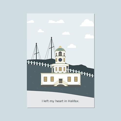Halifax Town Clock Pin | Halifax Paper Hearts