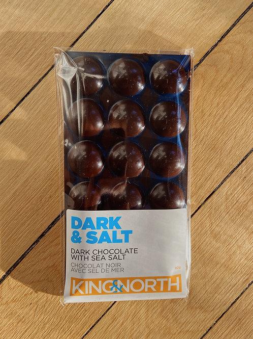 Dark & Salt Chocolate Bar | King & North Chocolate