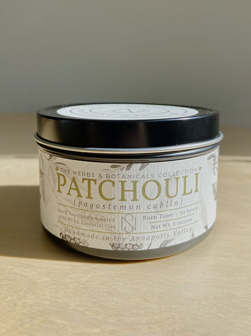 Patchouli Candle | New Scotland Candle Co.