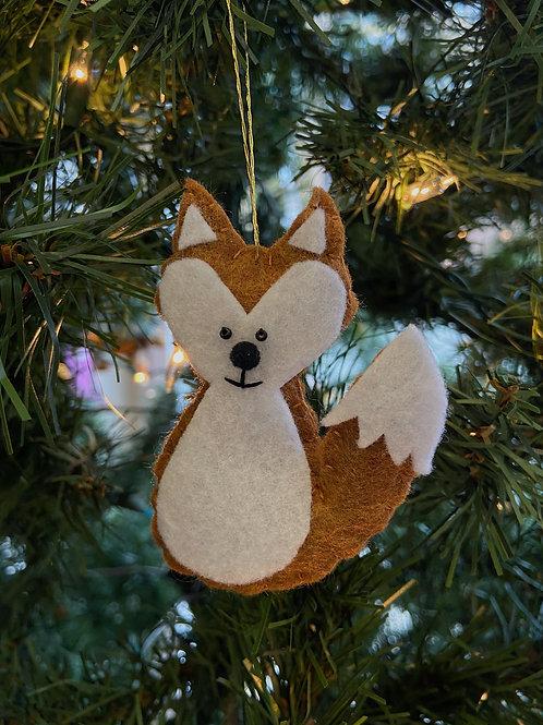 Fox Felt Ornament | Rosemary Taylor