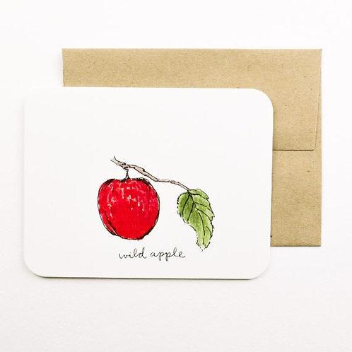 Wild Apple Card | Field Day Paper