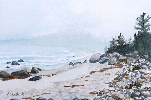 Beach Walk - Original Painting | Pat Shattuck