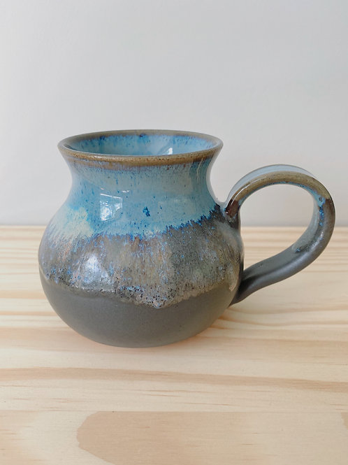 Northern Light Pot Bellied Mug | Old Barn Pottery