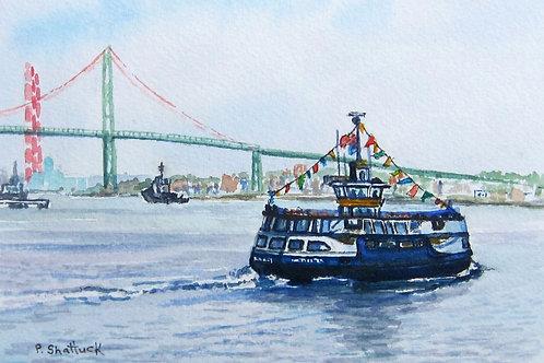 Dartmouth Bound- Original Painting | Pat Shattuck