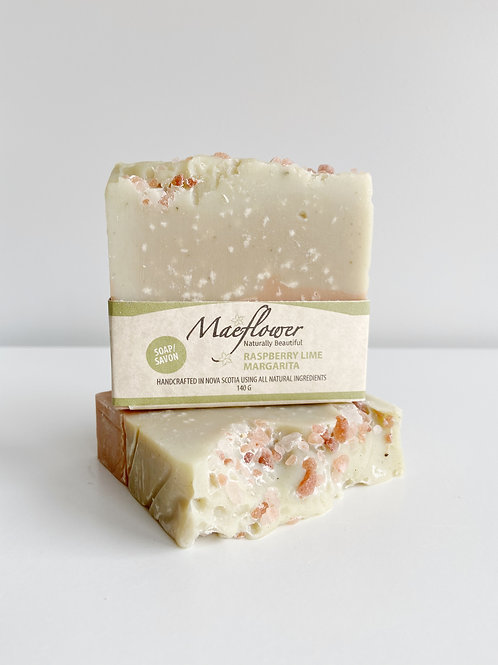 Raspberry Lime Margarita Soap | Maeflower + The Way Botanicals
