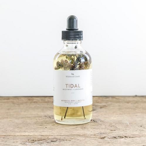 Tidal Botanical  Body + Bath Oil | Wildwood Creek