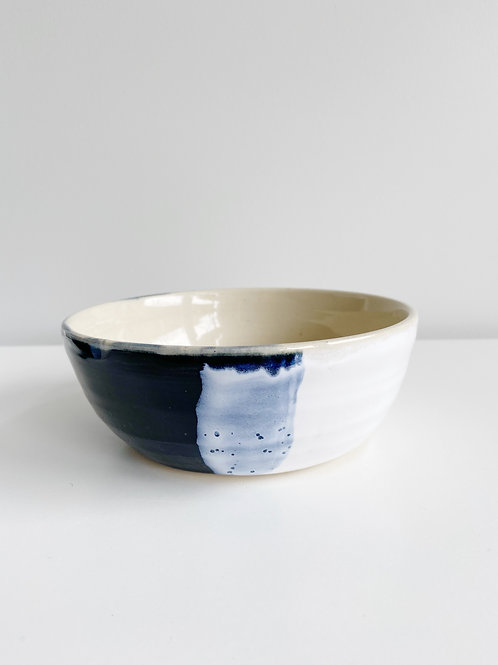 Black + White Cereal Bowl | Anderson Pottery