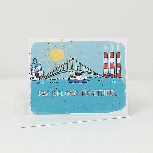 We Belong Together- Wildflower Seed Card | Jill + Jack Paper