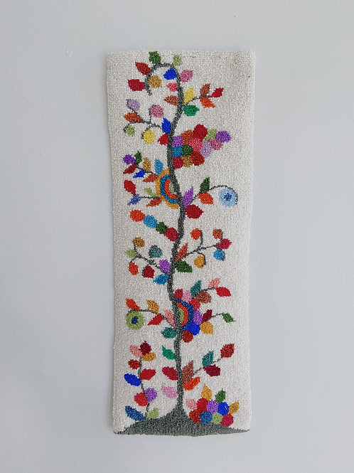 Tree of Life Hanging | Cheticamp Rug Hooking