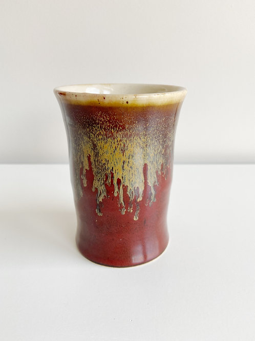 Antique Red Tumbler | Anderson Pottery