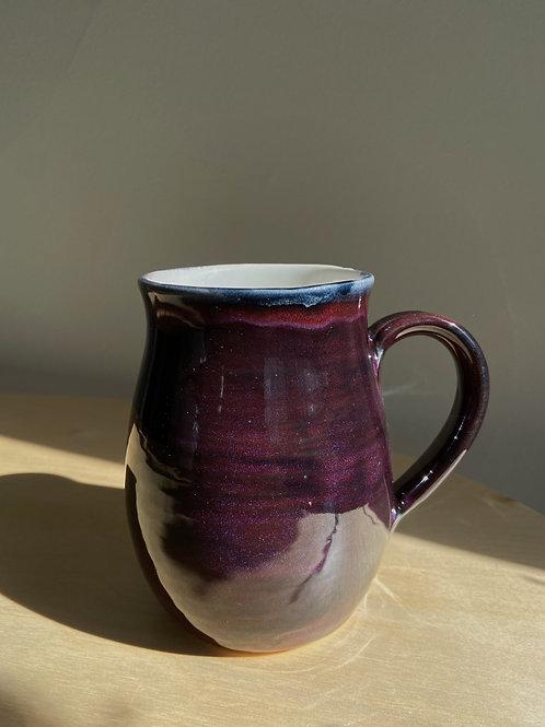 Merlot Mug   Anderson Pottery