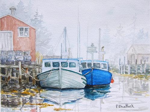 Thick O' Fog- Original Painting | Pat Shattuck