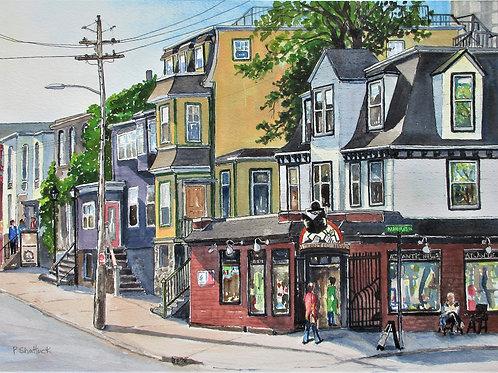 Atlantic News- Original Painting | Pat Shattuck