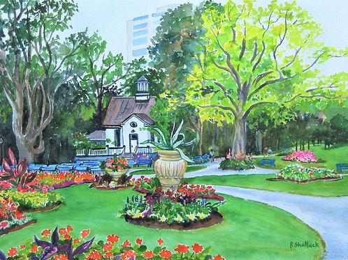 The Public Gardens - Original Painting | Pat Shattuck
