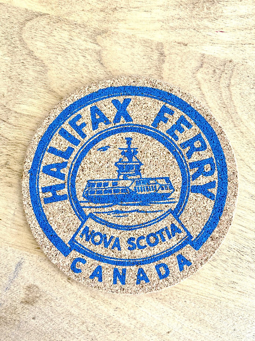 Halifax Ferry Cork Coasters | Holdfast Ink