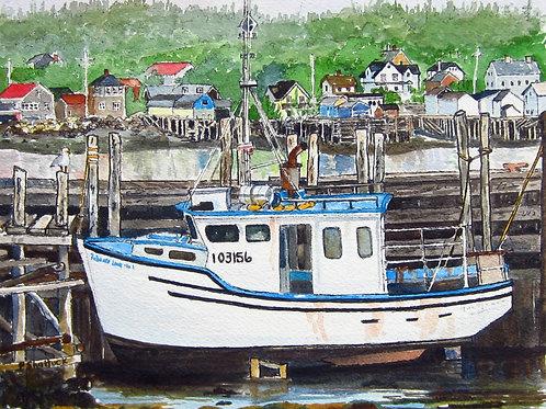 Low Tide at Brier Island - Original Painting | Pat Shattuck