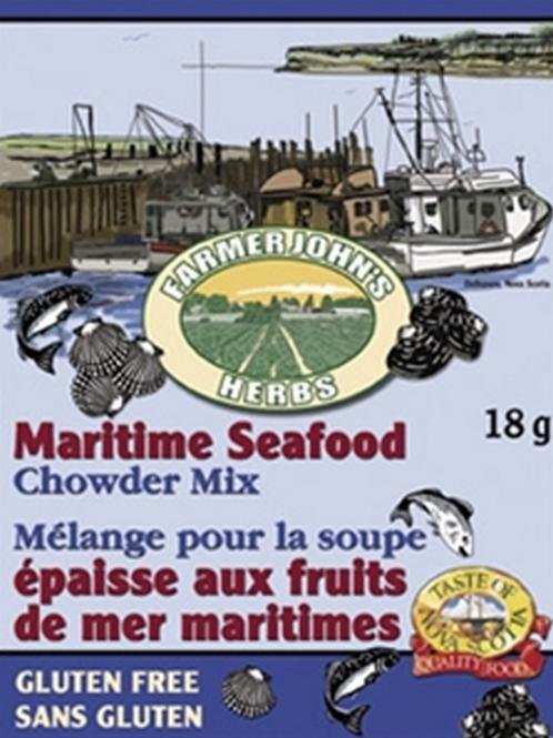 Maritime Seafood Chowder Mix | Farmer John's Herbs