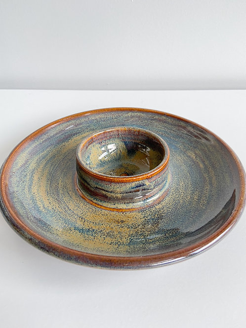 Northern Lights Chip + Dip | Anderson Pottery