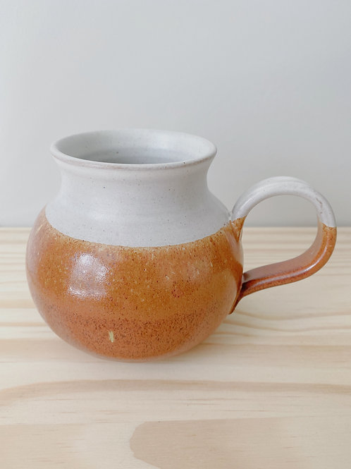 The 1976 Pot Bellied Mug   Old Barn Pottery