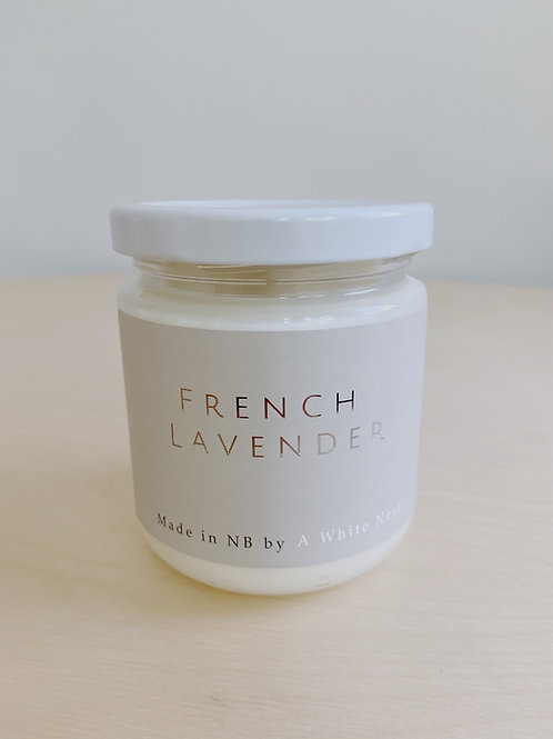 French Lavender Candle | A White Nest