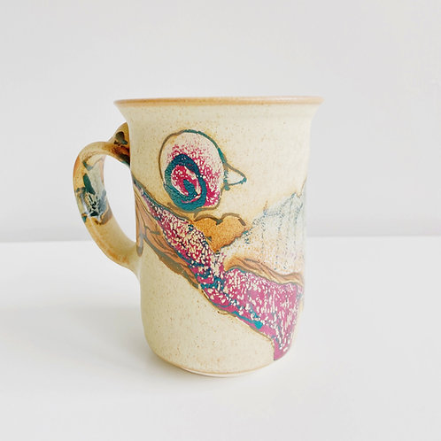 Pattison Collage Mug   Greig Pottery
