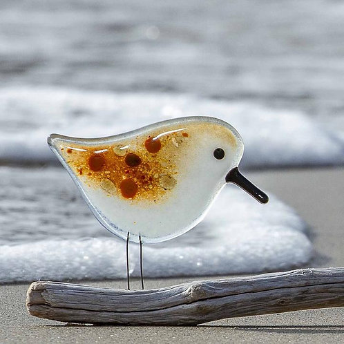 Standing Sandpiper | The Glass Bakery