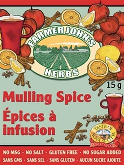 Mulling Spice | Farmer John's Herbs