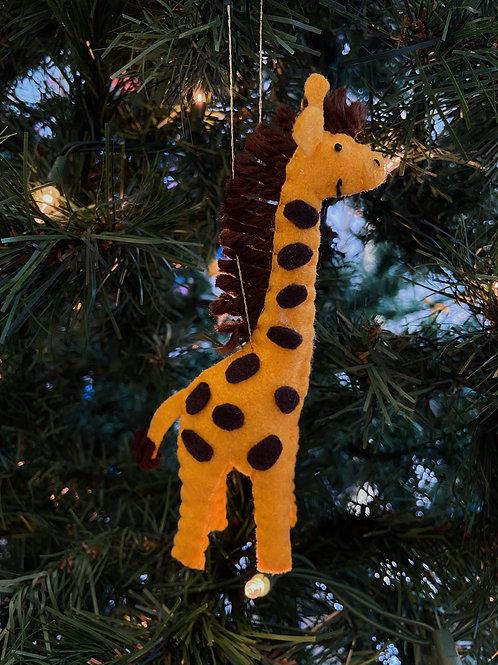Giraffe Felt Ornaments | Rosemary Taylor