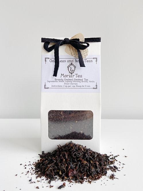 Moriar Tea- Brandy Soaked Smoked Tea | Sense and SensibiliTea