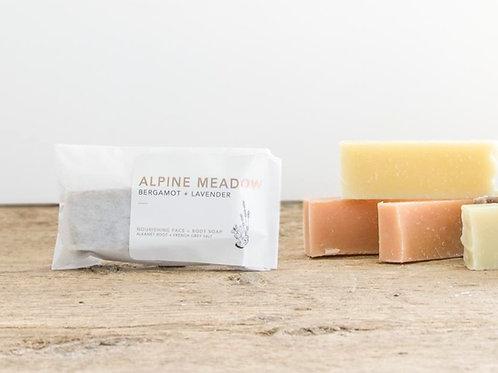 Alpine Mini Soap   Bergamot + Lavender   Wildwood Creek