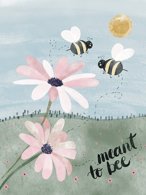Meant to Bee Card | Poplar Paper Co.