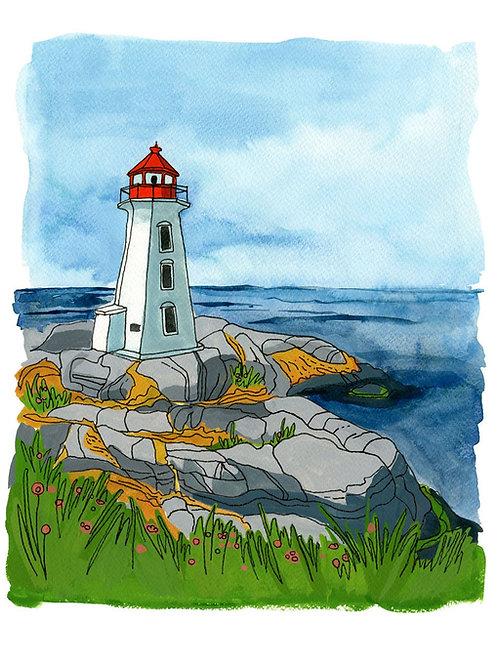 Peggy's Cove Print | 8x10 |Kat Frick Miller